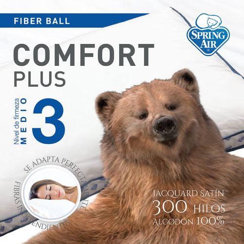 Almohada Comfort Plus Firmeza media