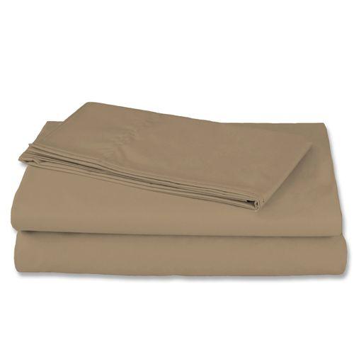 Sabanas Cotton Sheet Set Kakhi