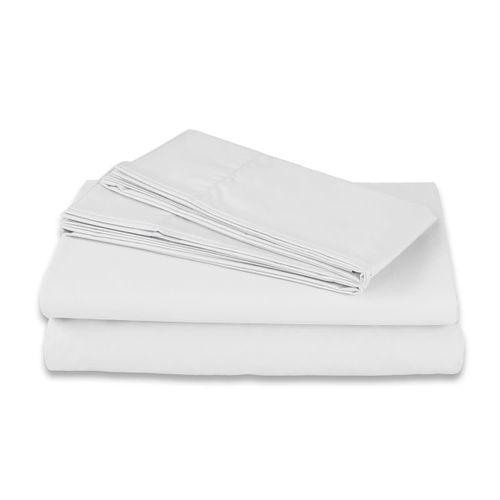 Juego de Sábanas Satín 400 hilos 100% algodón Heaven Blanco
